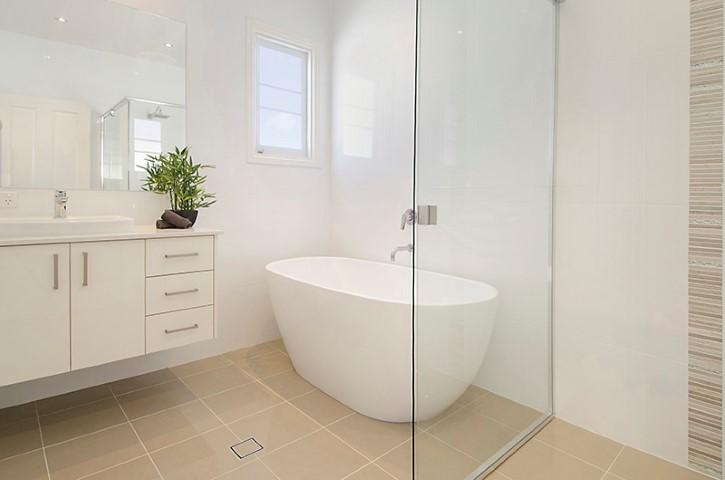 Henson rd salisbury 1 renovation builder home extension for Small bathroom renovations brisbane
