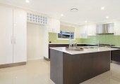 Kitchen with 2pac and stone benchtops