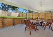 Patio for outdoor living